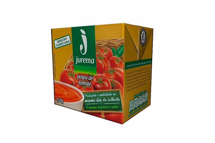 Polpa de tomate em edição especial