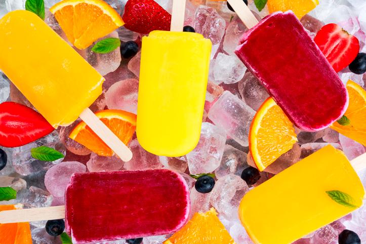 Para refrescar! Aprenda a fazer picolés de frutas caseiros