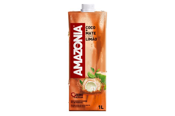 Lançamento! Água de coco com mate e limão é a novidade da Amazônia