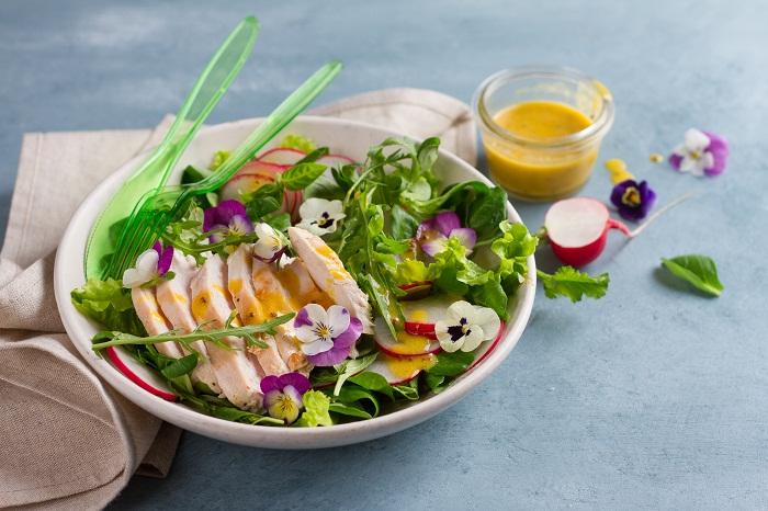 Flores comestíveis: direto da primavera para o seu prato