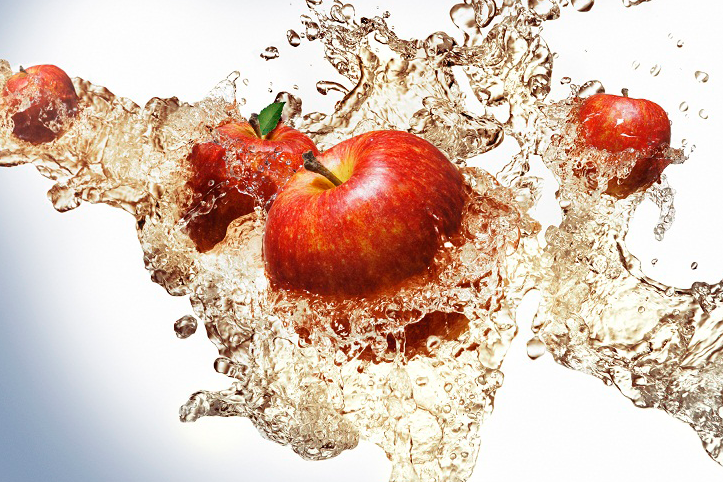 Novo suco de maçã 100% da Del Valle