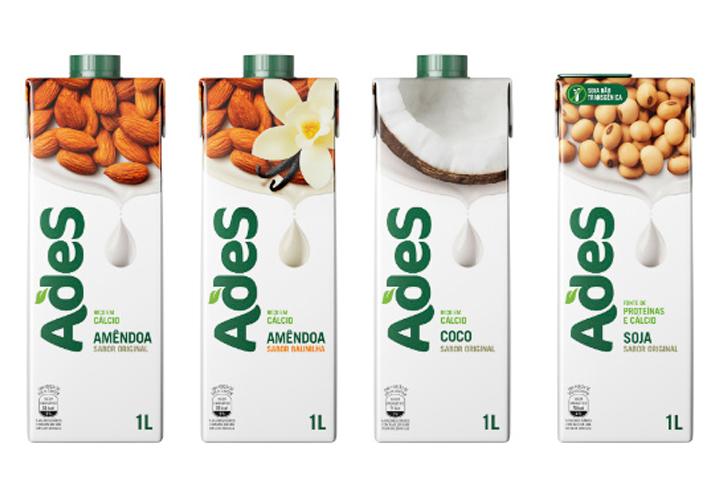 AdeS vai além da soja e lança novos sabores de bebidas vegetais