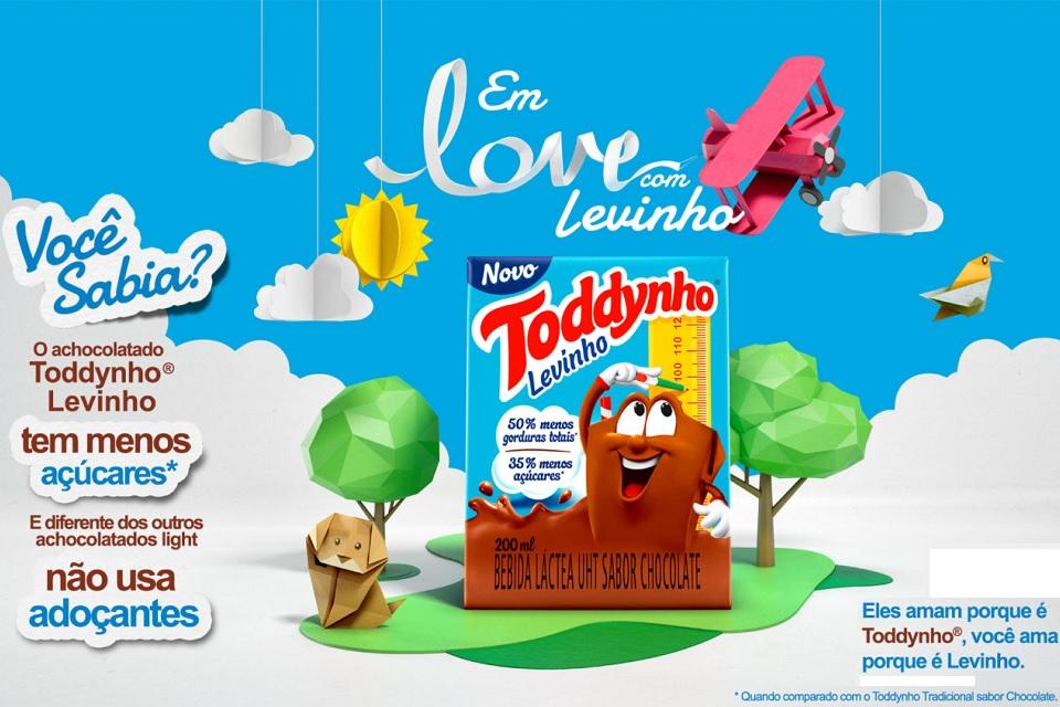 Toddynho lança versão com menos açúcar e gordura