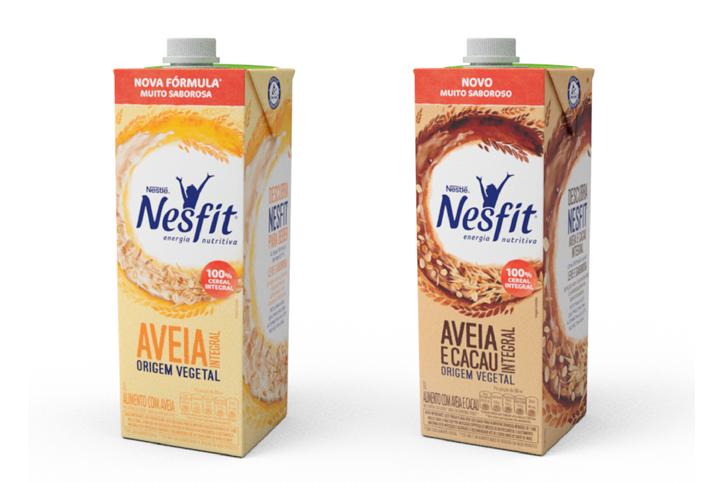 Nestlé lança linha de bebidas vegetais Nesfit