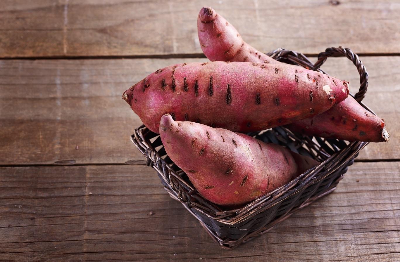 Os benefícios da (super) batata doce