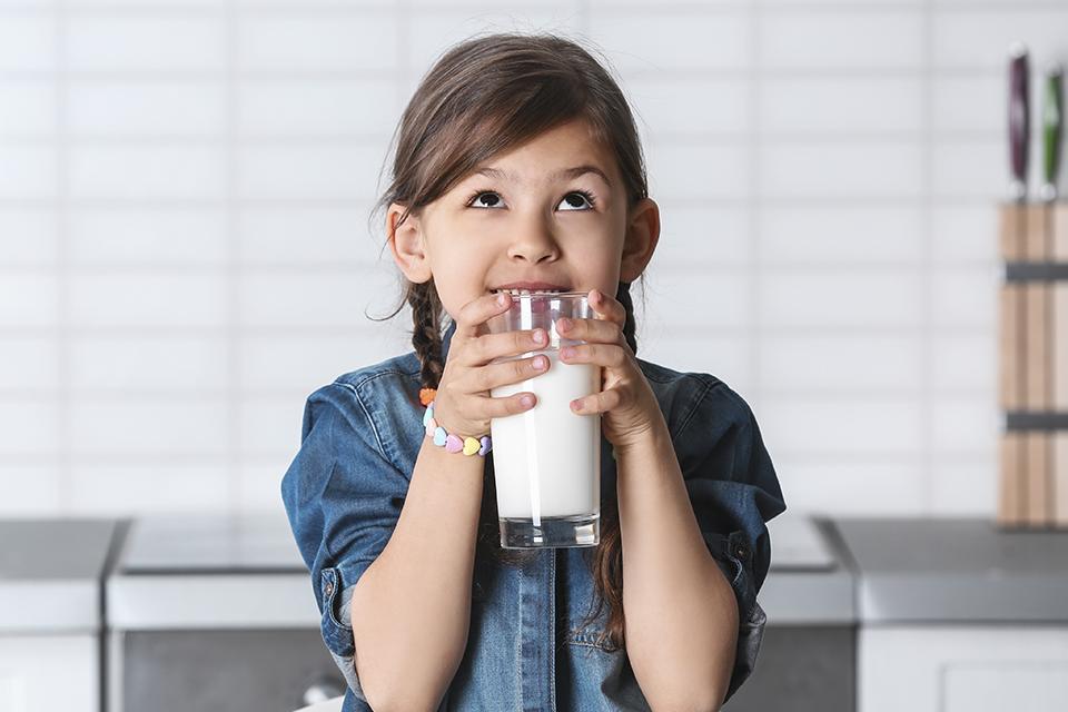 O leite para a humanidade