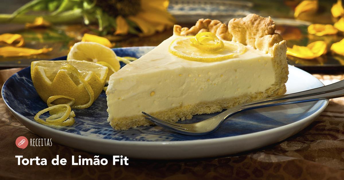 Torta de Limão Fit: A Sobremesa Perfeita!